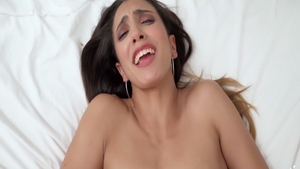 Very sexy babe receives plowing hard