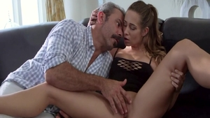Amazing babe Cassidy Klein agrees to sex scene