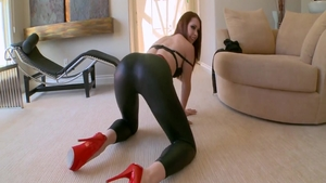 Very hawt Melody Jordan ass fucked stretching