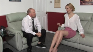 Fetish punishment in the company of MILF