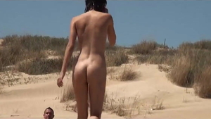 Skinny amateur group sex outdoors in HD
