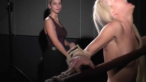Lesbian rub their clits together and BDSM in HD
