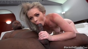 Pussy sex in company with big boobs mature Kay Carter