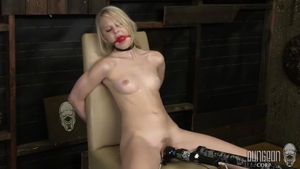 Fetish bondage in company with Lily Rader