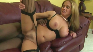 Nailed rough alongside large tits blonde haired