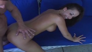 Big tits Elle Ryan & Richelle Ryan fucked all the way outdoors