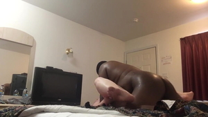 Hard ramming in company with amateur