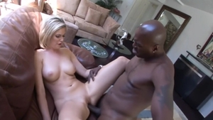 Blonde haired plowed by big cock Lex Steele