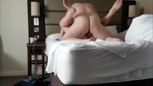Young french step sister cumshot at the party