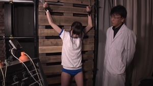 Small tits japanese electro threesome in HD