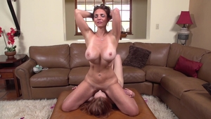 Real fucking escorted by large boobs mature Mindi Mink