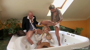 Blonde haired goes for plowing hard HD