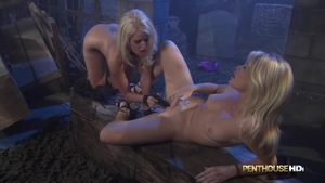 Rough nailing together with big tits stepmom Alexis Ford
