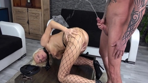 Art real sex next to passionate babe Vanessa Hell HD