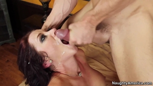 Ramming hard together with super hot MILF Jayden Jaymes
