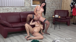 Loud sex together with huge tits MILF