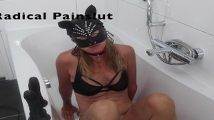 'Drooling, Spitting, Pissing And Squirting Degraded tractable Painslut'