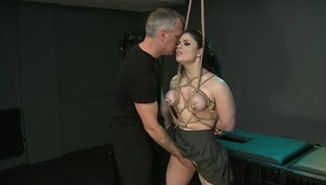 Big boobs Lucia Love BDSM playing with toys