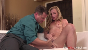 Ramming hard along with young blonde hair Nicole Clitman in HD