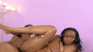 black BBW Tootsie arse Takes The MAC