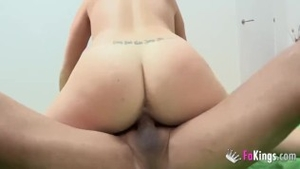 Rough fucking escorted by inked european amateur