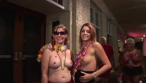 Passionate perfect chick crazy flashing outdoors HD