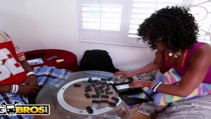 Mature Misty Stone feels in need of nailed rough