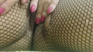 Sex scene along with wet pussy babe