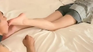 Chinese mistress feet fetish