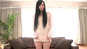Solo japanese amateur got her pussy pounded