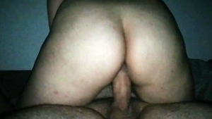 Young brunette rough cowgirl sex orgasm HD