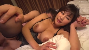 Japanese in tight stockings sex with toys HD