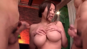 Fucking together with hairy asian