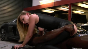 Emma Klein and Lucy Heart escorted by Ana Rica