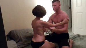 Young wife homemade cuckolding