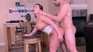 Large tits pawg fucked anal
