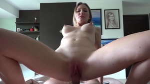 Blonde hair Desert Angel cumshot sex tape HD