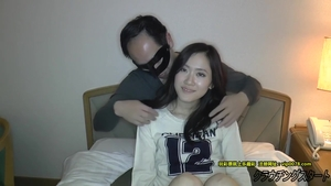 Creampied in company with hairy japanese amateur