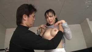 Big boobs asian in tight stockings HD