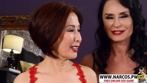 Getting a facial along with asian MILF Kim Anh