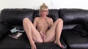 Hard ramming escorted by blonde