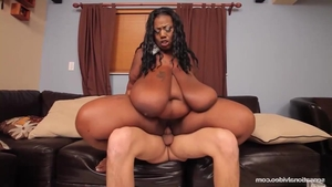Fucking escorted by big boobs ebony babe