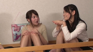 Asian brunette has a thing for good fucking HD