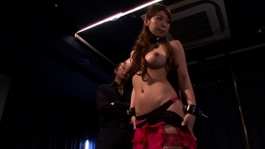 Busty japanese Tarra White rough BDSM