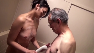 Pussy sex accompanied by japanese brunette