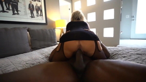 American housewife creampied