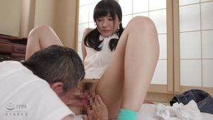 Hairy japanese cosplay cumshot