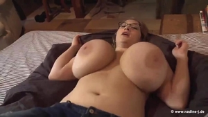 Hardcore sex in the company of sweet amateur