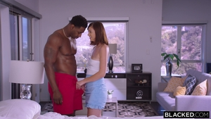 Leah Lust in crazy close up interracial fucking