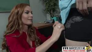 Diamond Foxxx in tight stockings got her pussy pounded in HD